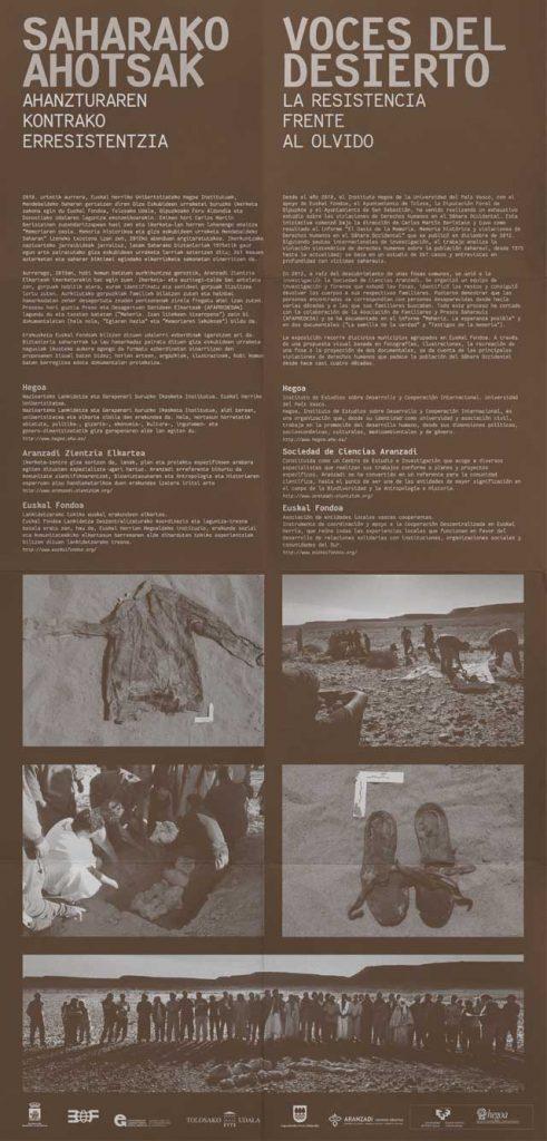 Saharako Ahotsak 8