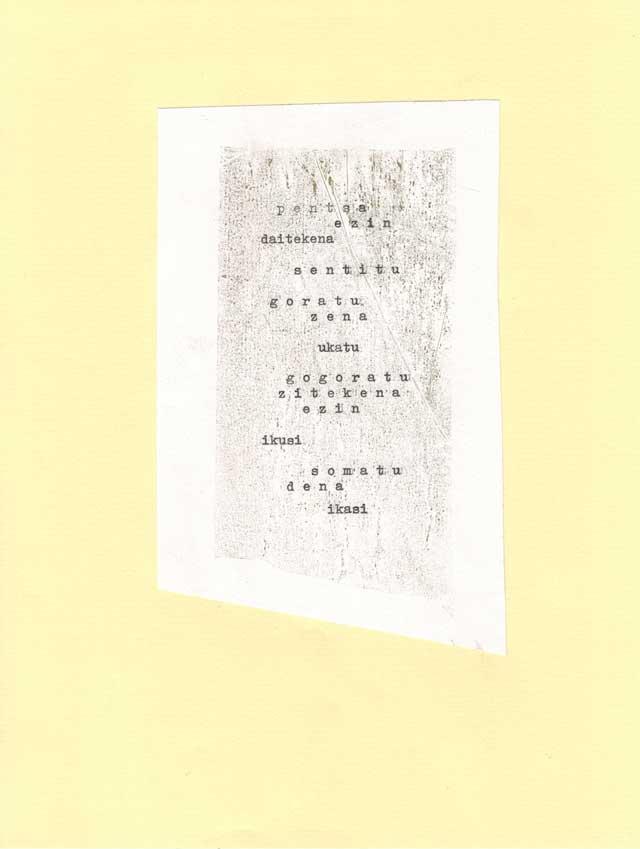 Poesia bisuala - bigara